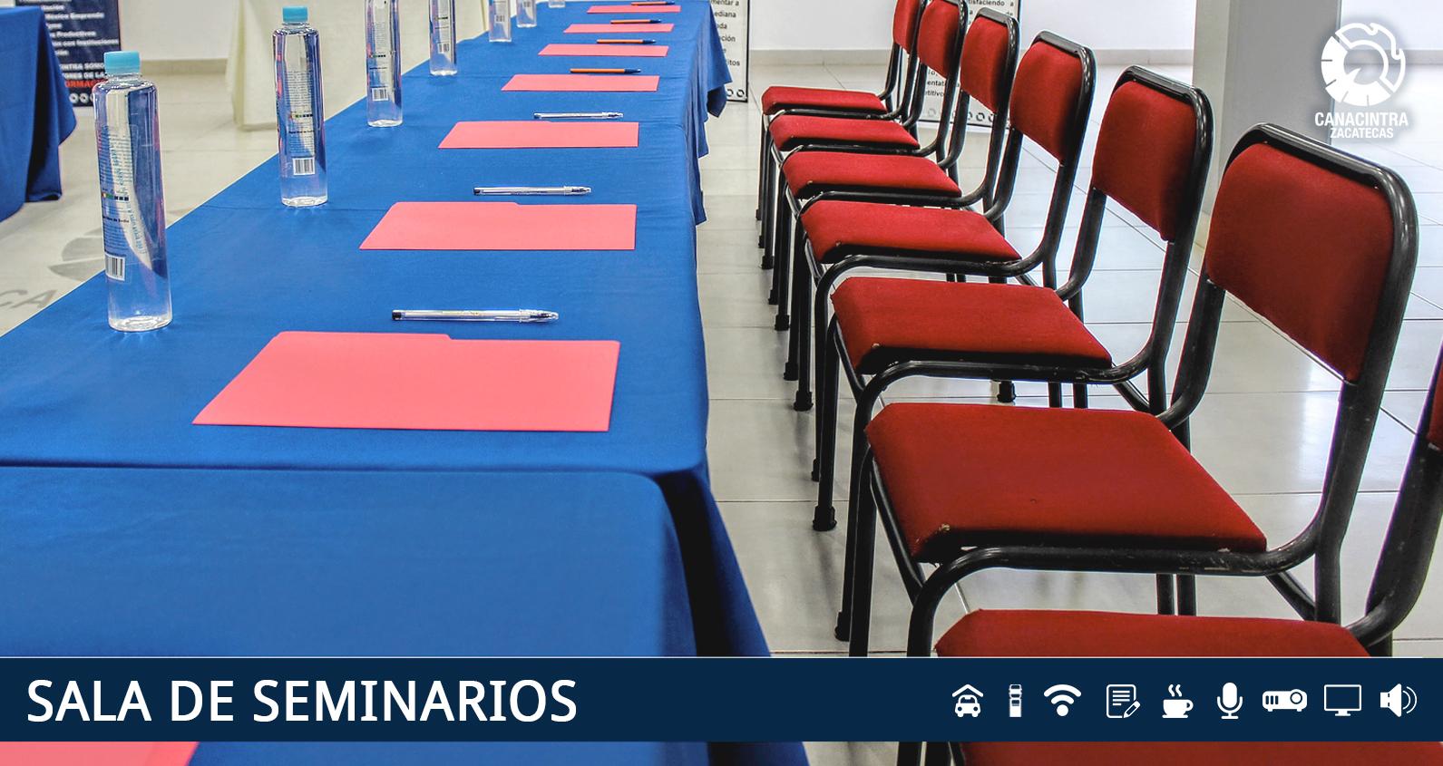Sala de Seminarios Canacintra Zacatecas